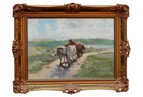 In the Fields by V. Enea