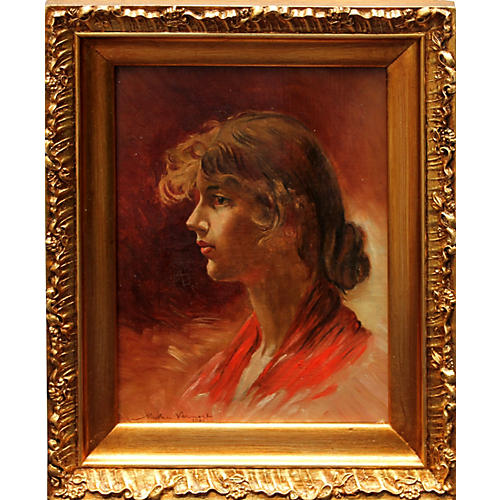 Young Girl by N. Vermont