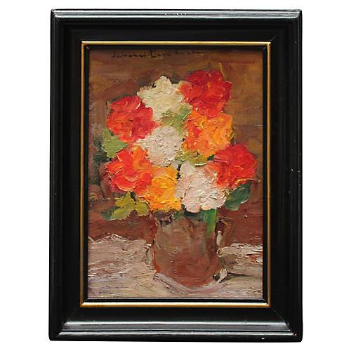 Flowers by R. Schweitzer-Cumpana