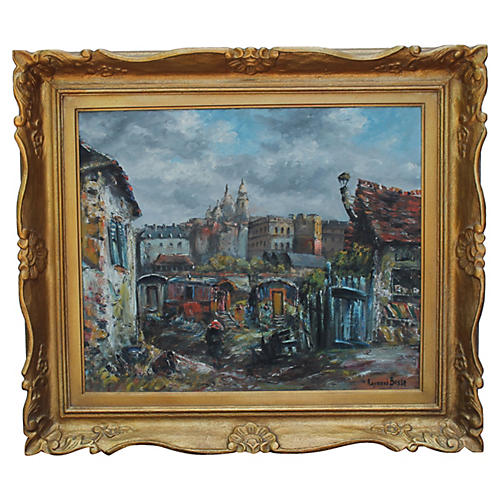 Parisian Scene by R. Besse