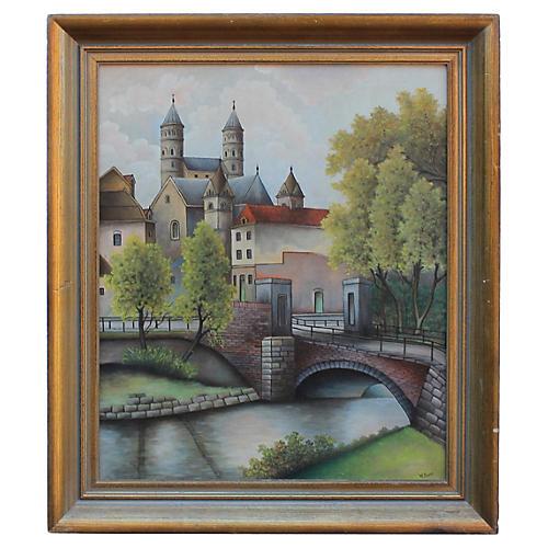 Flemish Town by W. Royen