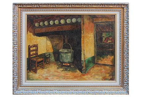 Interior Scene by J. Derdisck