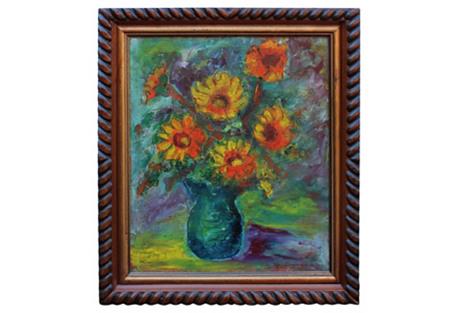 Floral Arrangement by R.S. Cumpana
