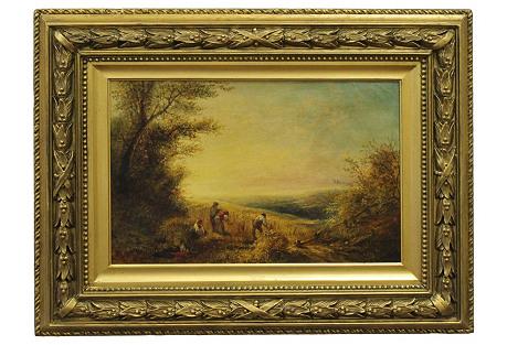 Harvest Landscape by T.K. Pelham