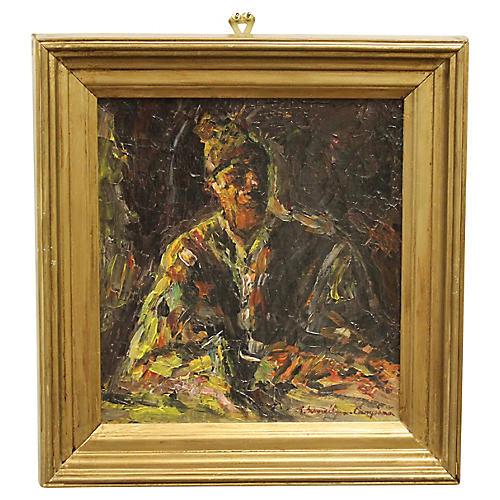 Impressionist Portrait by R.S. Cumpăna