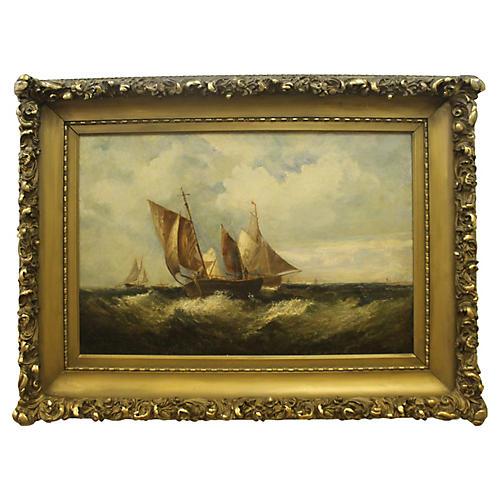Rough Seas by C.N. Hemy