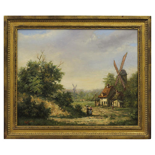 Flemish Country by Joseph Ratinckx