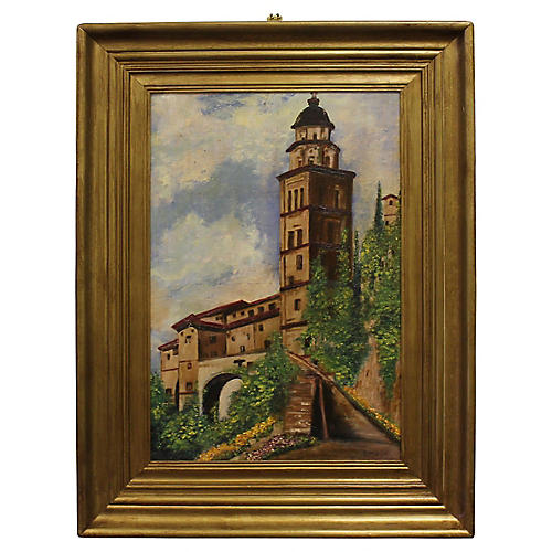 European Bell Tower by Samuel Mutzner