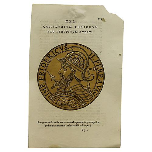 Intaglio of Roman Emperor