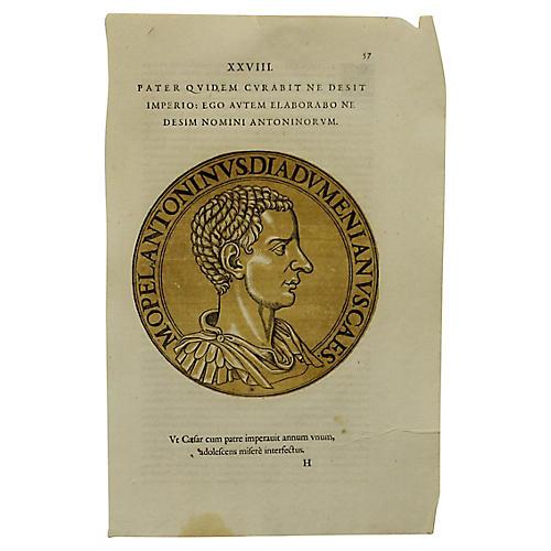 Roman Intaglio of Anthony?