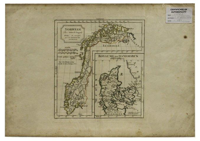 Map of Scandinavian Countries - Foreign Affair International ...