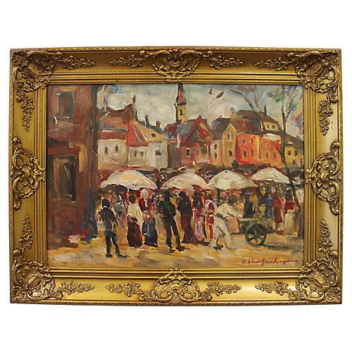 Sunday Market by R.S. Cumpana
