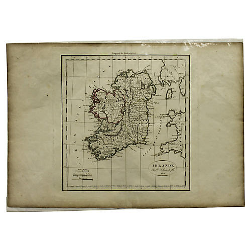 Antique Map of Ireland