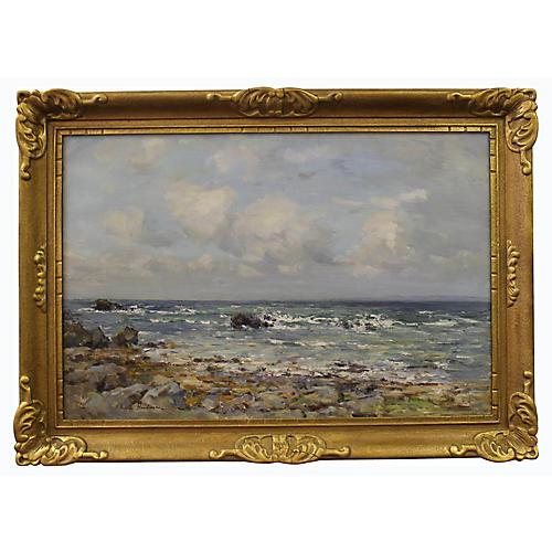 Seascape by J. Henderson