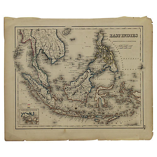 Antique Map of the East Indies