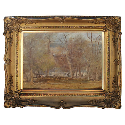 Impressionist Landscape by Oliver Hall