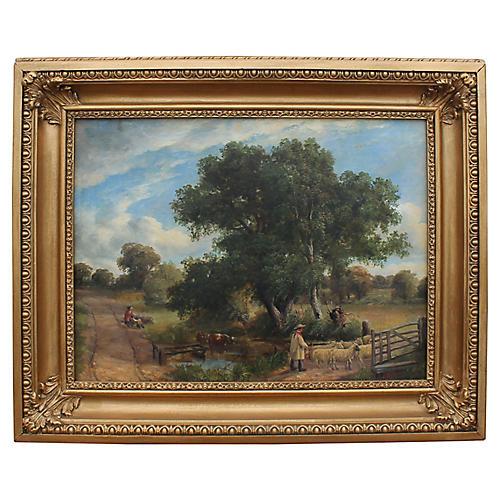 Summer Landscape by J.J. Hughes