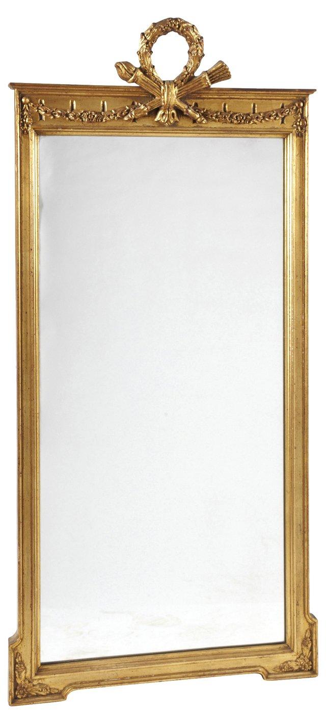 Antique Louis XVI-Style Mirror