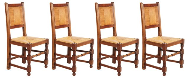 French Dining Chairs, S/4