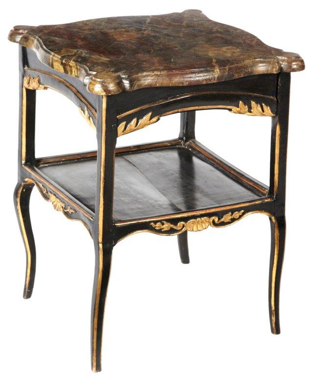 Italian Painted Side Table