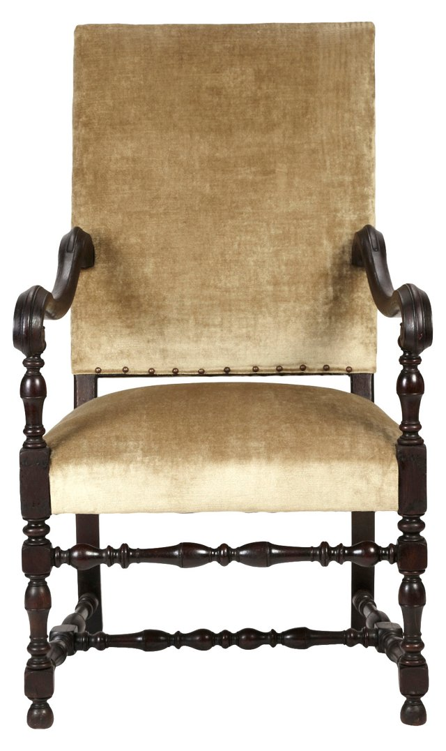 French  Louis XIV-Style Armchair