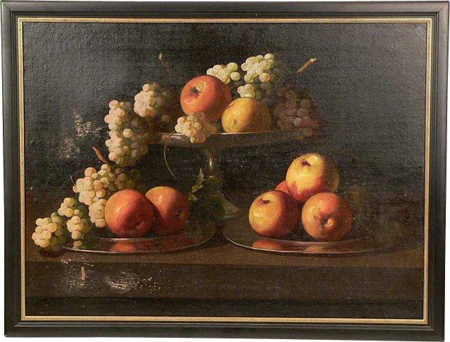 Still Life w/ Apples & Grapes-do not * R