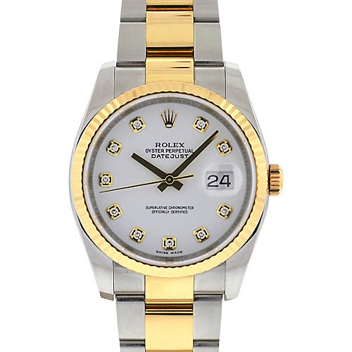 Rolex 116233 Datejust 2-Tone Watch