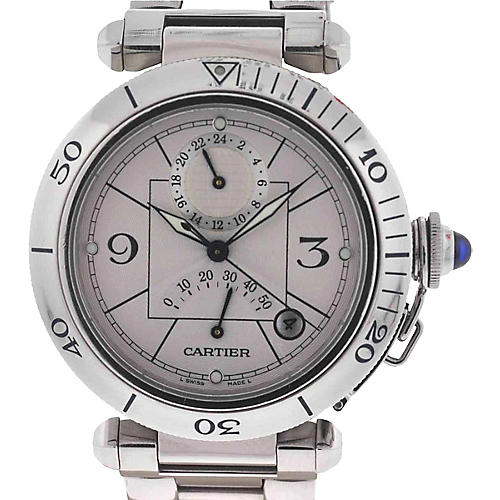 Cartier 2388 Pasha GMT Automatic Watch