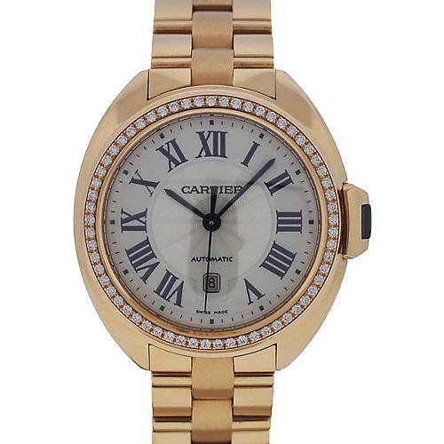 Clé de Cartier Diamonds Ladies Watch