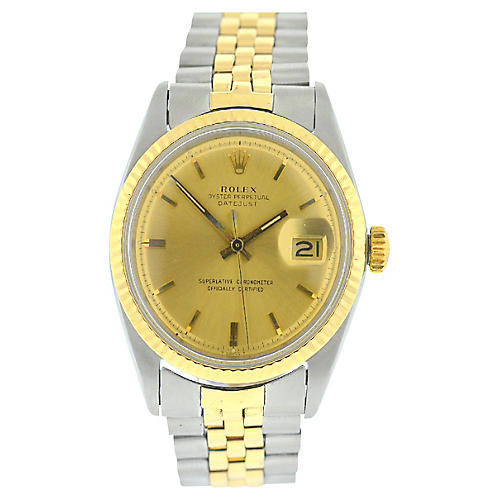 Rolex 1601 Datejust Jubilee Watch
