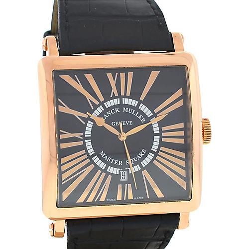 Franck Muller Master Square Gold Watch