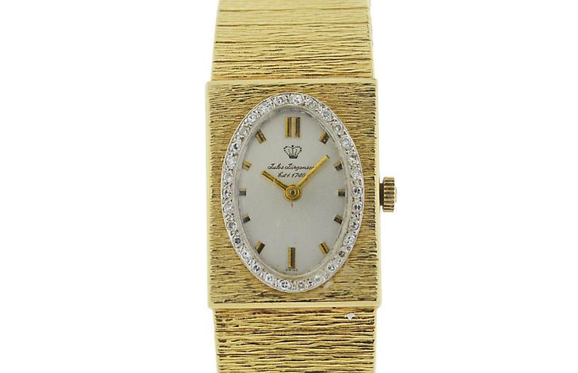 Vintage Jules Jurgensen 14k Yellow Gold