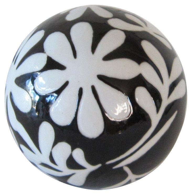 Black & White Decorative Ball