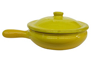 Italian Terracotta Pan w/ Lid