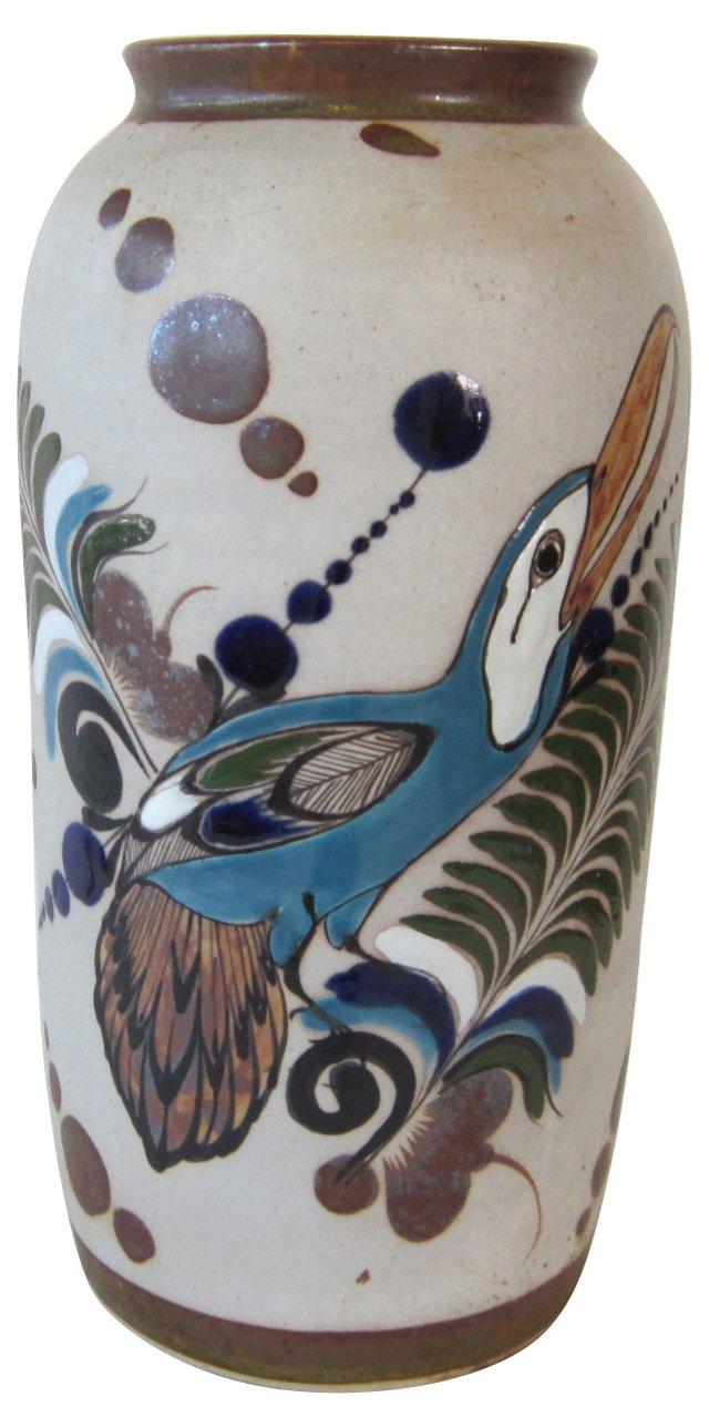 Mexican Vase w/ Bird