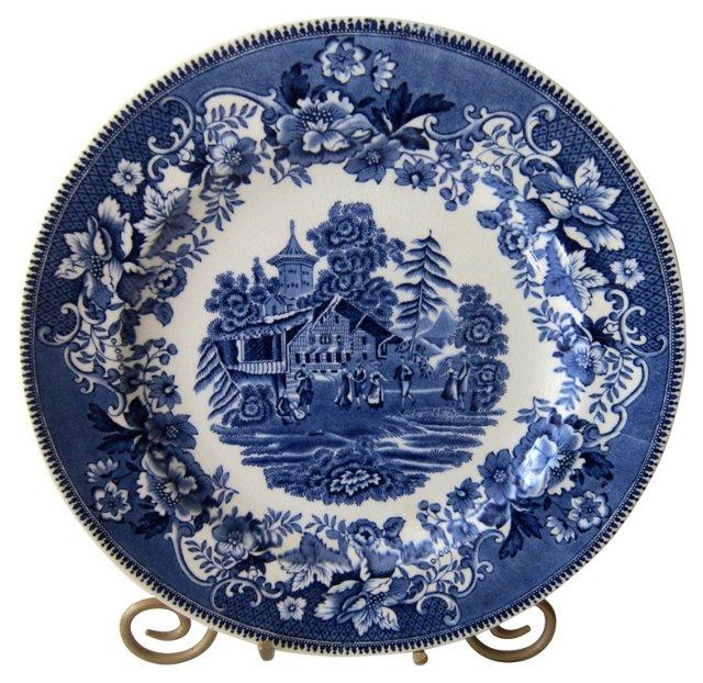 Staffordshire Avon Cottage Plate