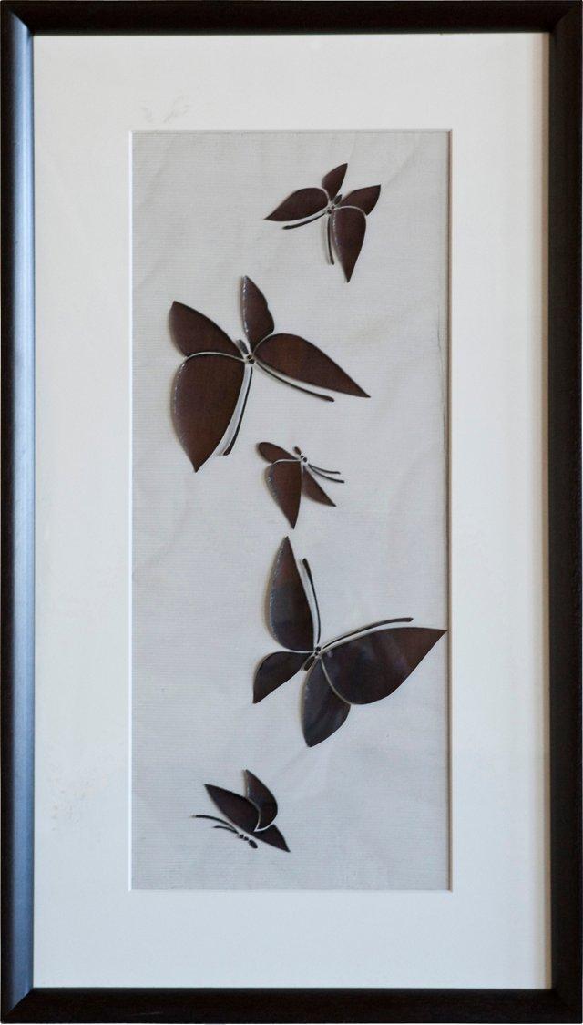 Black Butterfly Katagami