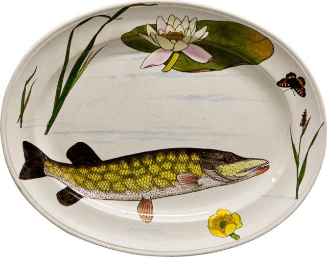 Minton Fish Platter