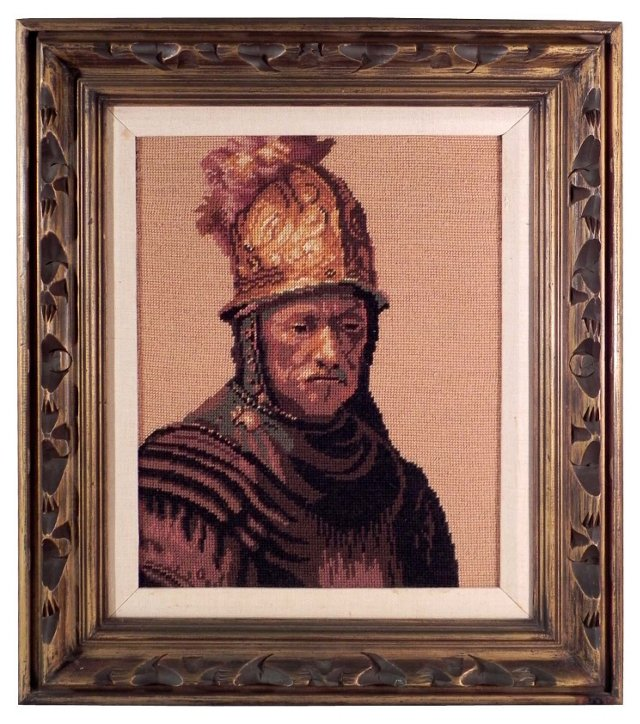 Soldier Needlepoint