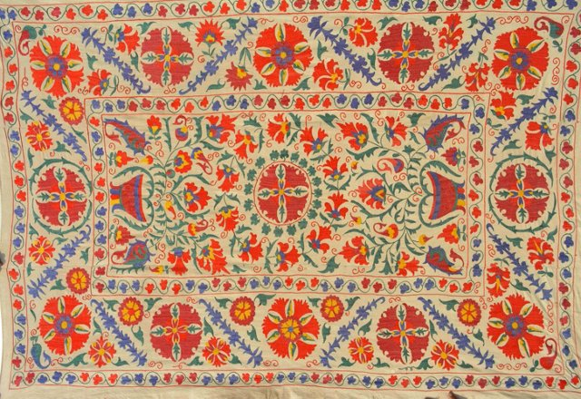 Tree of Life Uzbek Suzani