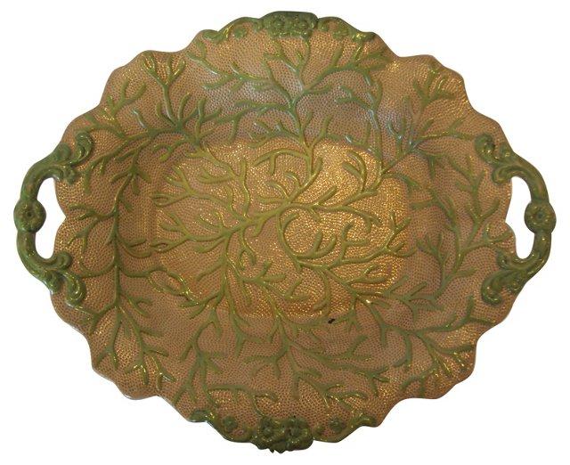 English Grape Vine Wall Platter
