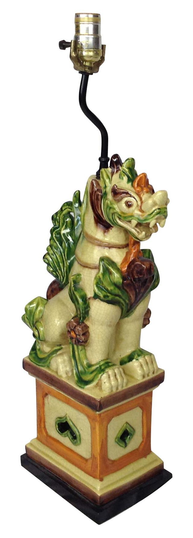 Asian Dragon Lamp