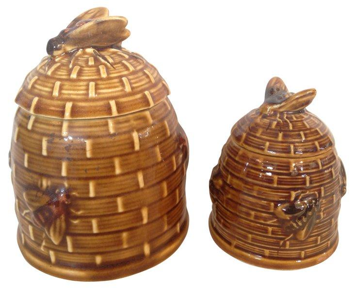 Honey Pots, Pair