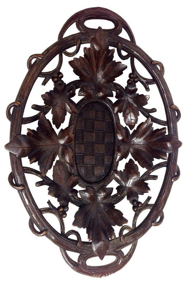 Black Forest Carved Bread Basket