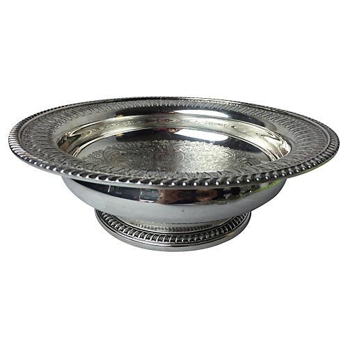 Barker-Ellis Silver-Plate Bowl