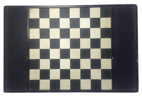 English Wood Checkerboard