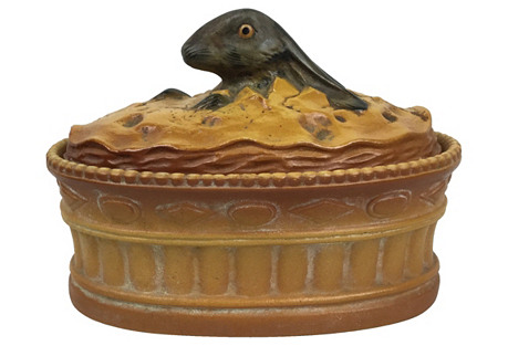 French Rabbit Covered Dish