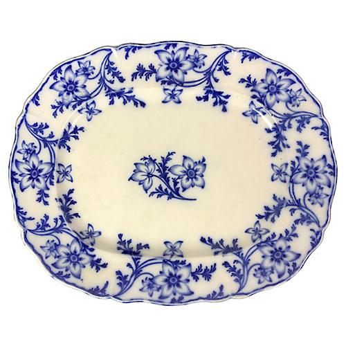 Large English Minton Platter