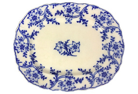 Large English Minton Platter
