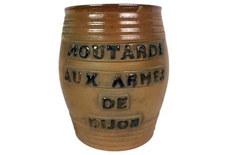 French Mustard Crock